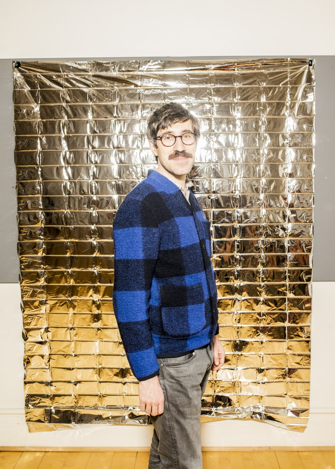 Portrait of Lorenzo Pezzani, lecturer and researcher of  Forensic Architecture at Goldsmiths University of London