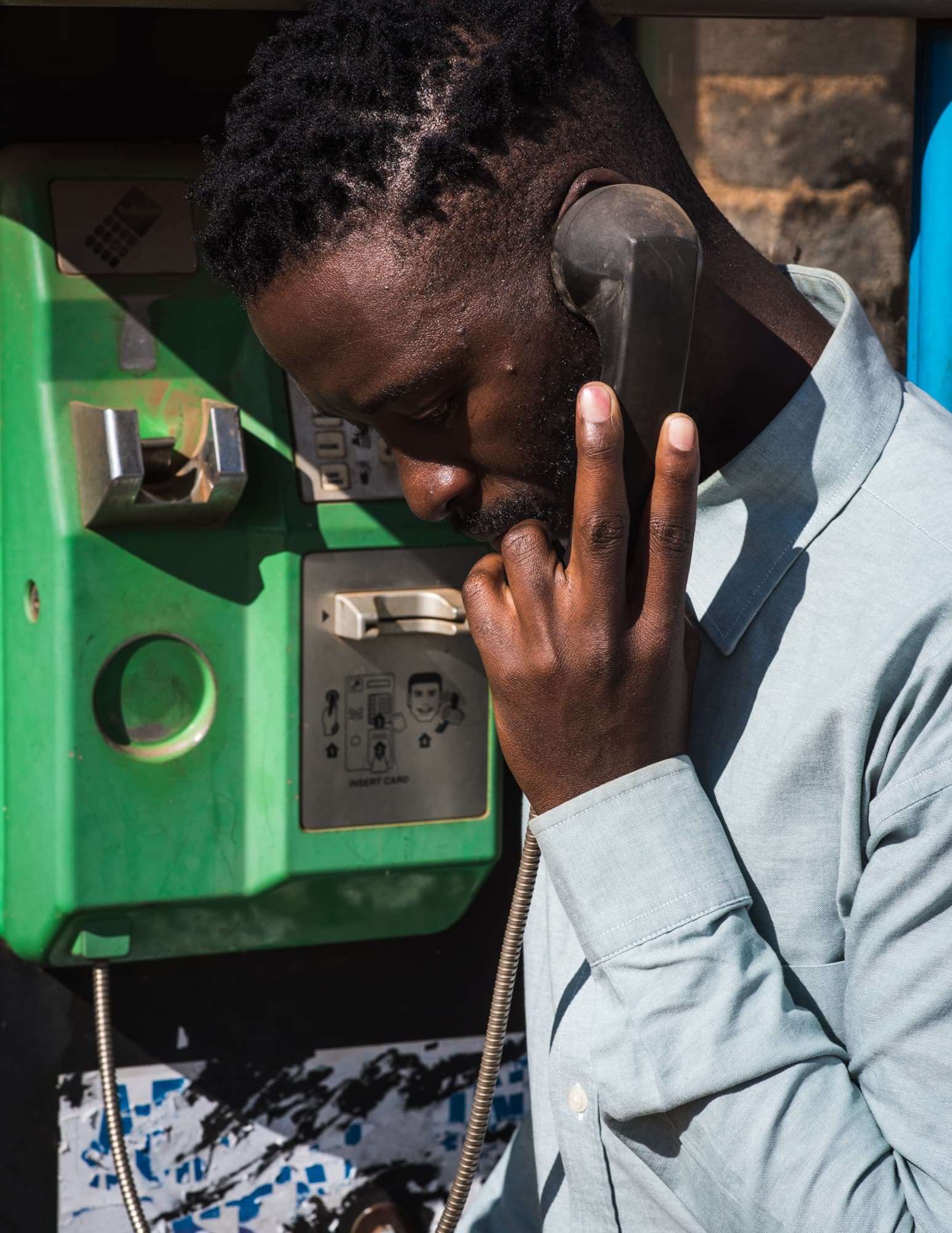 How to get home — Phone box and Handsign to Extension 2