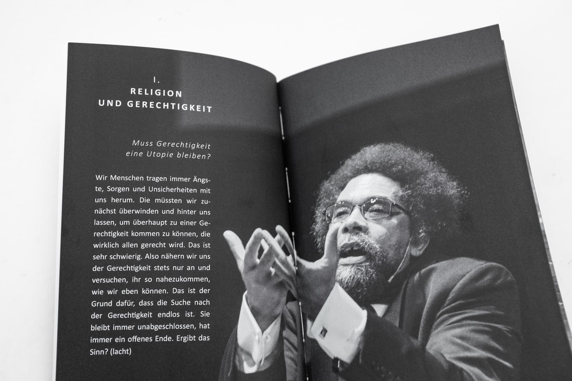 Publication by the philosophical research institute Hannover on the discussion with Cornel West in 2014.
