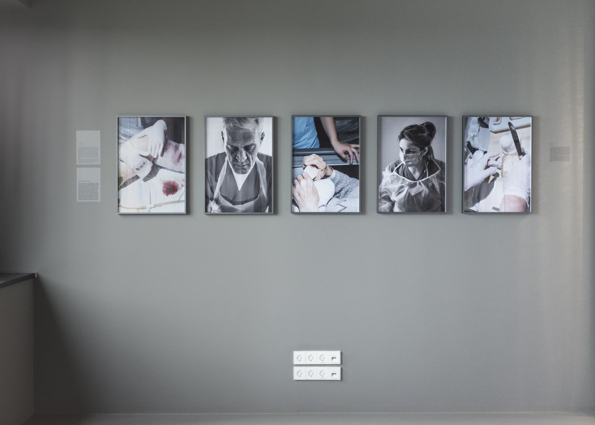 """exhibition view of """"Nicht muede werden"""""""