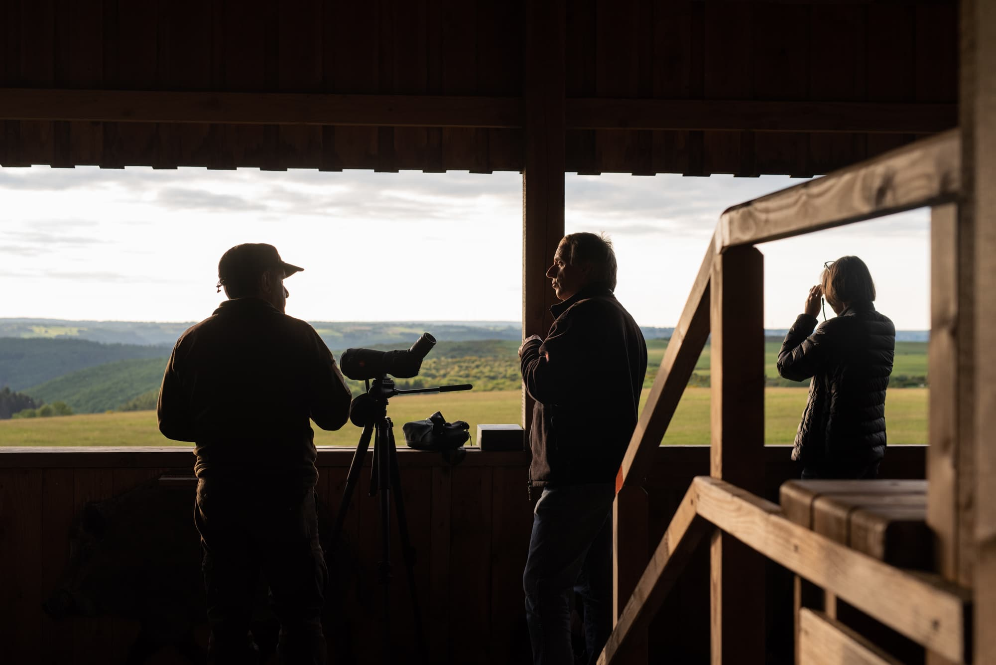 Documenting national park Eifel for the annual sustainability report of Wald und Holz NRW