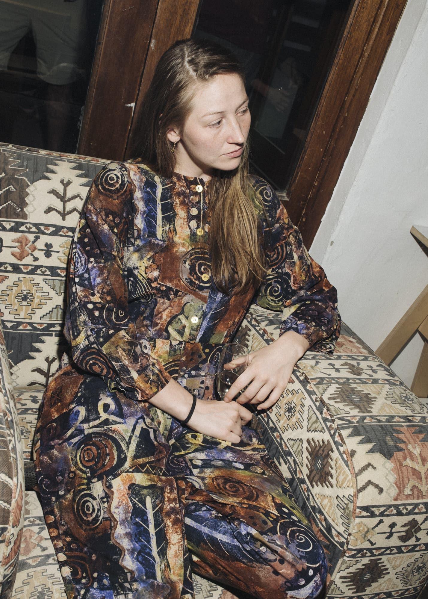 Portrait of fashion desginer Barbara Brunner