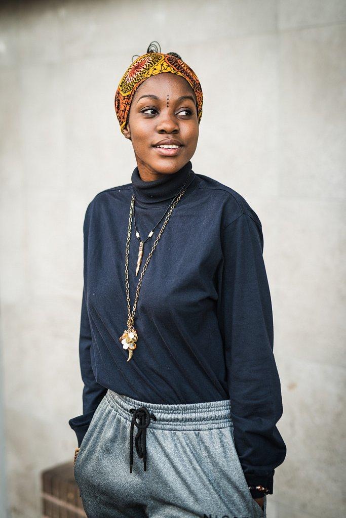 Adelaide Seleka, model