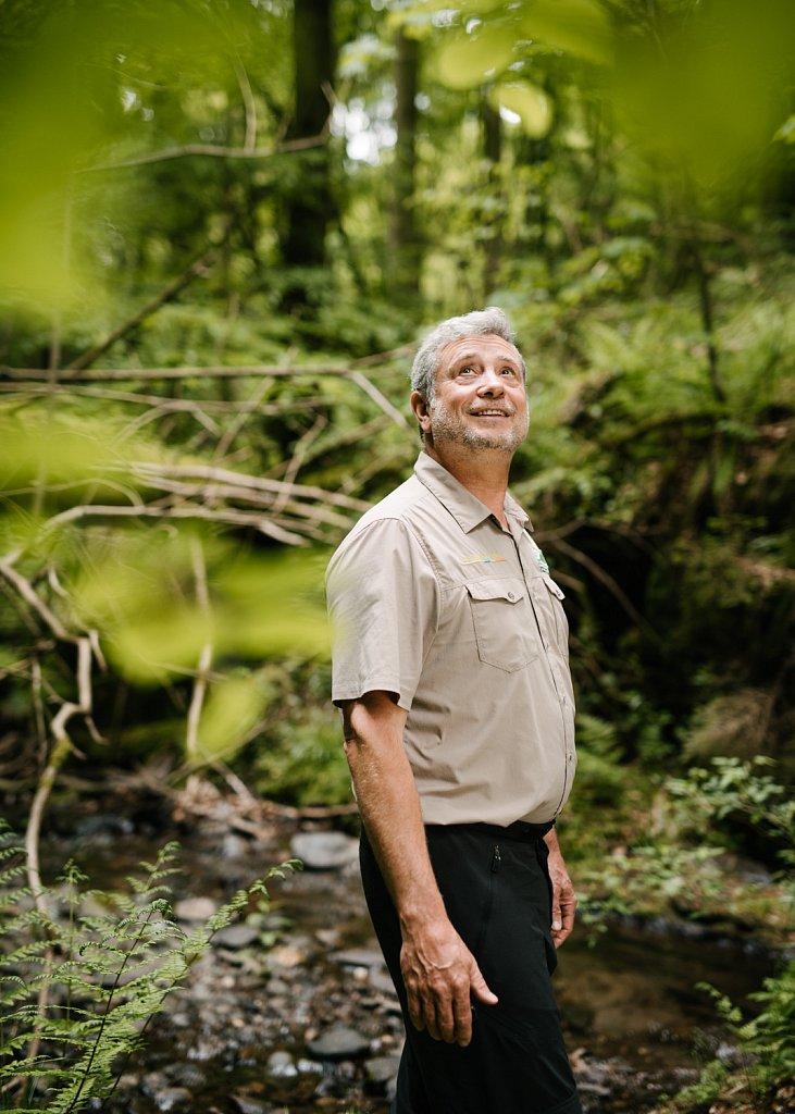 Michael Lammertz, ranger at National Park Eifel